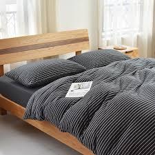geometric striped comforter bedding
