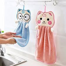 hanging towel. Contemporary Hanging Generic Blue 1  Cute Kitchen Hanging Towel Thick Super Absorbent Cloth  Dish Cleaning Washing With