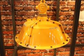 yellow pendant lighting. Designers Show Their Finest Lighting Pieces In Glass, Metal And More : Ferroluce Retro Yellow Pendant A