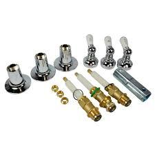 danco 3 handle tub shower trim kit for pfister in chrome