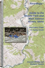 Rivermaps Middle Fork And Main Salmon Map