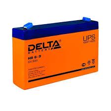 Аккумулятор Delta HR 6-9 (634W) (<b>6V</b> / 9Ah) со склада в Москве и ...