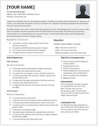 Purchasing Manager Resume Outathyme Com