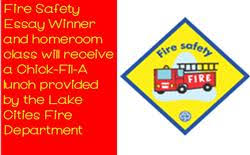 ce celebrates th grade fire safety essay winner