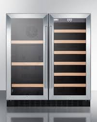 built in dual zone wine cooler. Modren Wine Summit SWBV3071 30 Inch Wide Builtin Undercounter Dual Zone Wine And Beverage  Cooler With Locks Digital Controls LED Lighting Throughout Built In Dual Zone Wine Cooler L