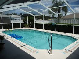 Best Designed Elegant Blue Swimming Pool Design With Glass Protector  Riviera Pools Best Swimming Pool Enclosures ...