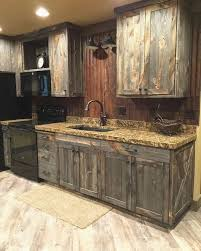 barnwood kitchen cabinets fresh kitchen barn wood cabinets diy rustic modern white look awesome