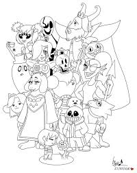 coloring books to print lovely undertale coloring pages printable projects to try