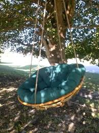 Hanging chair swing....i know what to do with the papasan chair