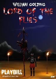 lord of the flies senior school drama playbill by greyfaerie