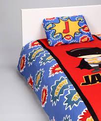 superhero duvet cover set personalized rnk s