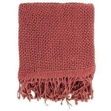 Mauve Throw Blanket