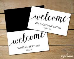 flat place cards diy place cards wedding black and white place cards editable