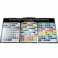 Details About Llewellyn Ryland Bs 5252 Colour Card Range