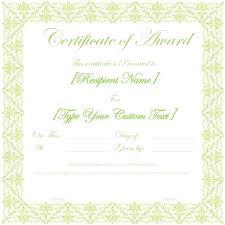 Best Certificate Templates Award Seal Template Energycorridor Co
