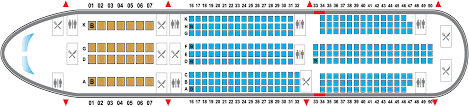 Seat Map Boeing 787