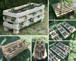previousnext diy vertical pallet strawberry planter