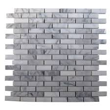 ivy hill tile big brick white carrera 3 in x 6 in x 8
