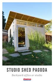 studio shed cost.  Shed The Pagoda By Studio Shed Is The Perfect Blend Of Form And Function  Multiple Windows Ample Interior Wall Space Combine To Suit A Variety Flexible  And Cost D