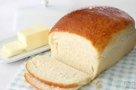Homemade Buttermilk Bread Butter With A Side Of Bread