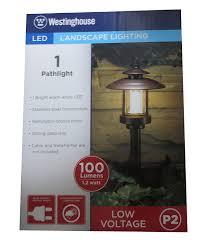 ledhill westinghouse 1 pc low voltage landscape 5 1 8 wide led bronze paa path light bronze com