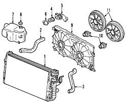 parts com® chevrolet cooling cooling fan shroud shroud 2008 chevrolet impala 50th anniversary edition v6 3 5 liter gas cooling fan