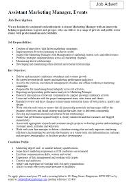 Marketing Coordinator Job Description Samples Sample Manager ...