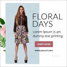 Fashion Banner 66 Premium Free Psd Instagram Fashion Templates To Be