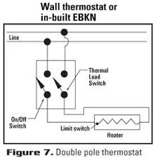 single pole thermostat wiring diagram Cadet Baseboard Heater Wiring Diagram choose the right thermostat thermostat selection guide cadet heat cadet 240v baseboard heater wiring diagram