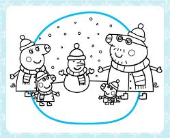 Find and print your favorite cartoon coloring pages and sheets in the coloring library free! Winter Peppa Pig Christmas Coloring Pages 2556 Peppa Pig Christmas Coloring Pages Coloringtone Book