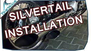 Auspuff Exhaust Installation Silvertail Teil 2 2 33 Honda VT.