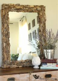 diy wood mirror frame.  Diy Diy Driftwood Mirror And Diy Wood Mirror Frame A
