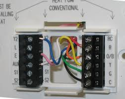 thermostatanalogwireheat cool coleman thermostat wiring diagram thermostat wiring on thermostat wiring information heat pump and multistage iaqsource