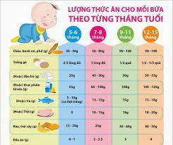 Giai đoạn bé 5 tháng tuổi mẹ nên cho bé ăn những thực phẩm gì ?