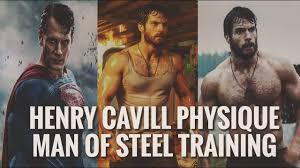 Henry Cavill Physique - Man of Steel Training - YouTube