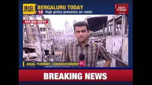 cauveryviolence uneasy calm in bengaluru cauveryviolence uneasy calm in bengaluru