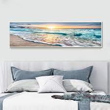 beach waves canvas art