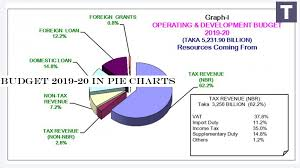 Budget 2019 20 In Pie Charts Theindiansubcontinent