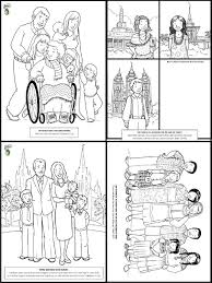 Pioneer Children Coloring Pages Within Lds Glum Me