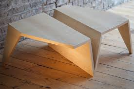the origami low coffee table made by 68