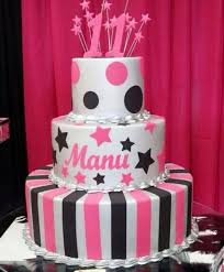 tier white pink and black birthday cake for 11 year old jpg 11 Year Old Cakes 3 tier white pink and black birthday cake for 11 year old jpg cakes for 11 year old girls