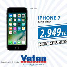 Hafta Sonuna Özel iPhone 7 32 GB Akıllı... - Vatan Bilgisayar