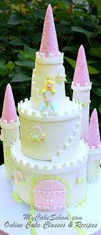 Birthday Cake Gorgeous Castle Cake Cake Decorating Video Tutorial