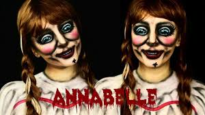 annabelle makeup and body paint tutorial