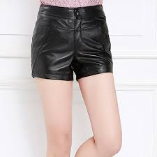 purpleèˆžå¼ skipperling haining leather sheep skin leather pants leather leggings boots pants shorts new slim