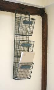 wire decorative wall file organizer