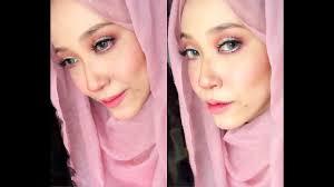 pinky doll look makeup tutorial