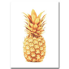 Pineapple Motivational Quotes Canvas Posters Decorgleecom