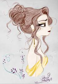belle with book drawing pin by kendall tubbs on my edits