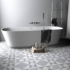 Bathroom Floor Tile Design Patterns Classy Ohio Star Pattern Tile Decal Floor Tile Decal Bathroom Etsy